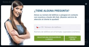 1xbet Chile Atencion al Cliente