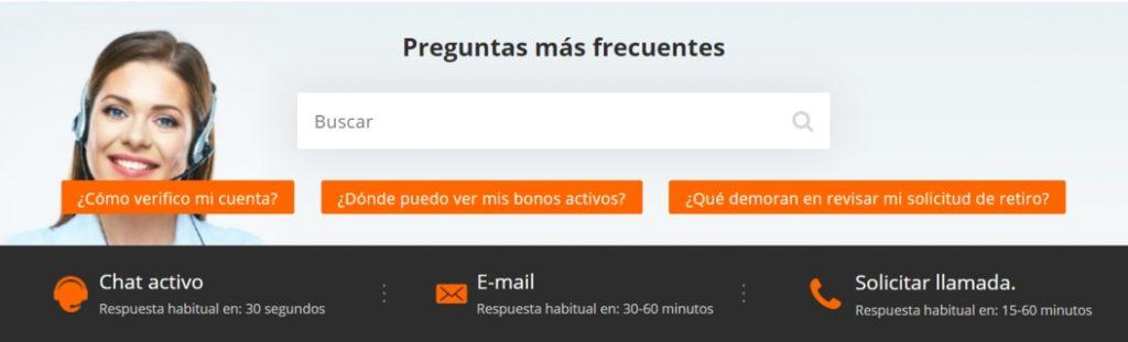 Betsson Chile Atencion al Cliente