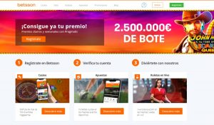 Betsson Chile Casino Apuestas