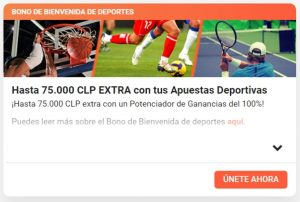 LeoVegas Chile Apuestas Bono de Bienvenida