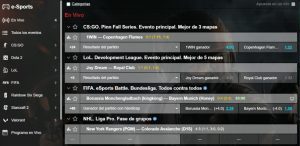 Marathonbet Chile Esports y Deportes Virtuales
