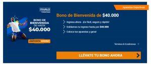 Rivalo Chile Bonus